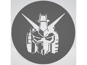 Gundam Stencil café