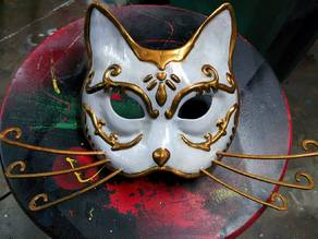 Splicer Cat Mask (Bioshock)