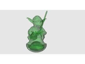 Yoda Weeble (threaded)