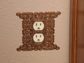 Victorian Outlet Cover