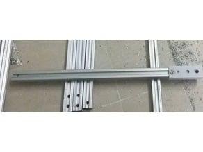 Jig for aluminium profile