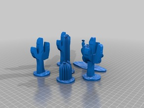 Cacti for 1 gauge G gauge/scale 1:32 scale