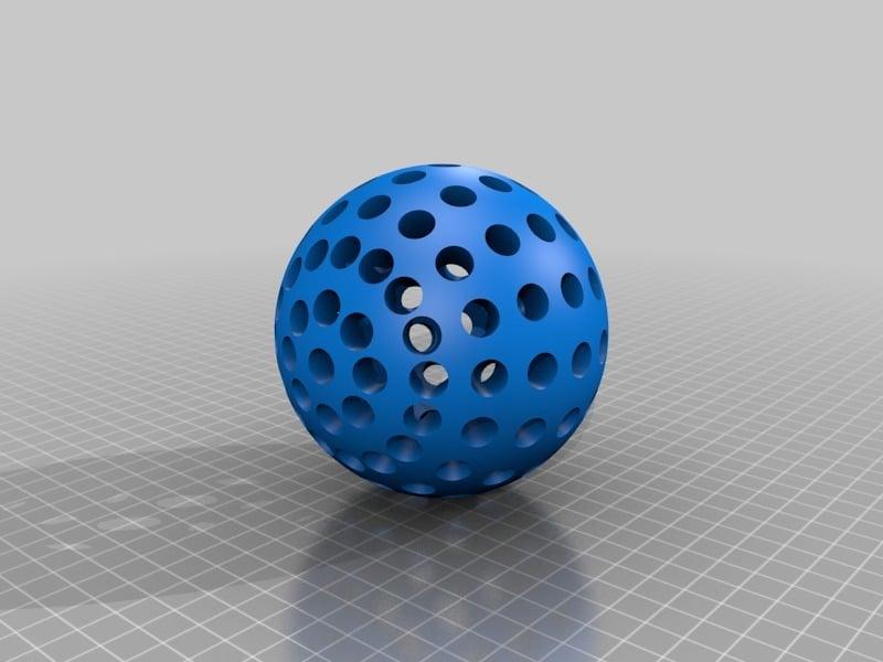 Wiffle Ball 50mm Radius
