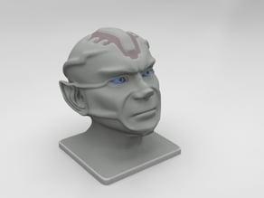 Alien Vulcan Head