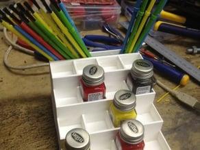 Model Paint Rack