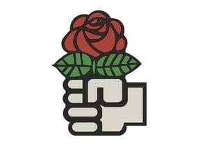 Soc Dem/Dem Soc Rose