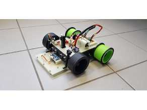 Roboter with Wheels