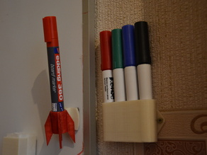 whiteboard marker wall mounting
