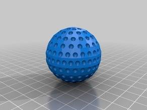 Parametric Golf Ball