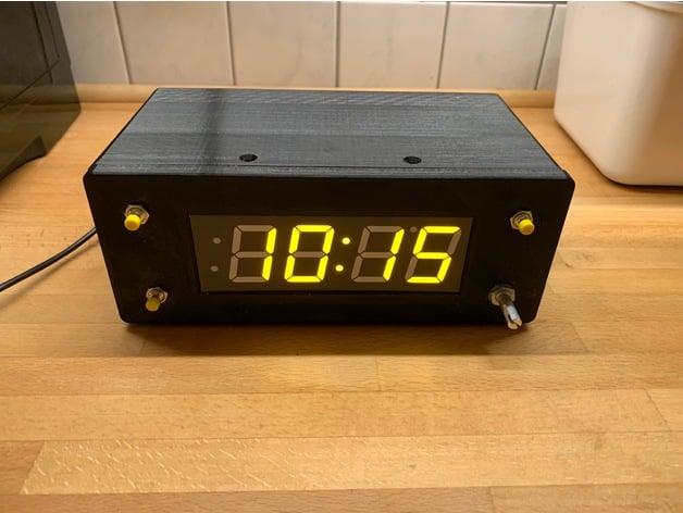 Alarm Clock for Arduino and Adafruit 7 Segment 1 2