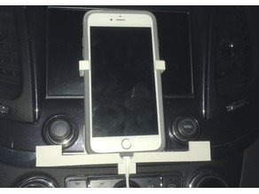 Iphone 6 plus (improved Rev4) w/Case for CD Slot and vertical holder