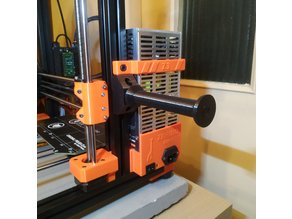 Aluminum Extrusion Spool Holder (Zaribo - 3030 Profile)