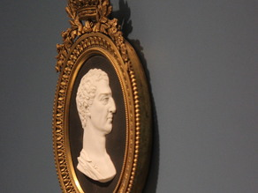 Plaque with Portrait of George Washington, c. 1790 or 19th century