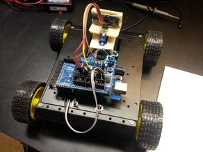 Eric's Sainsmart 4WD Arduino Robot  Code