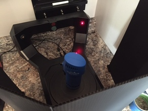 Makerbot Digitizer Screen
