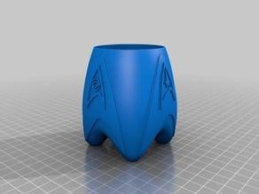 Star Trek Pen Pot - Remix