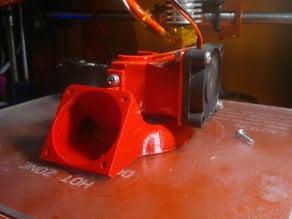 40mm fan mount long version.regulable  e3d V6 p3steel