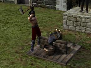 Stronghold - torture block