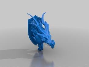 Alduin Dragon / Алдуин дракон / 3d stl model (Elder Scrolls Skyrim)