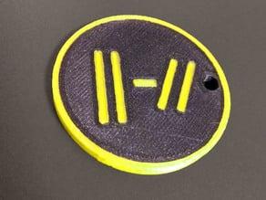 Twenty One Pilots - Keychain (Multi-Material)