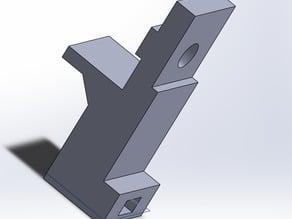 3-up M3 Bed nut holder - 23mm