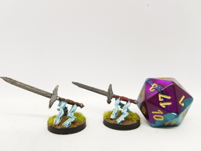 Flying Sword for 28mm Tabletop gaming