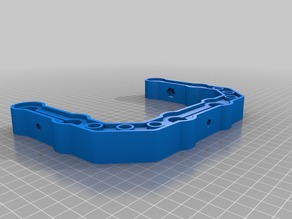 15mm C Shaped Cage Bracket - Two Sizes