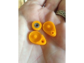 RC Yacht Pulley (3mmID ,6mmOD)