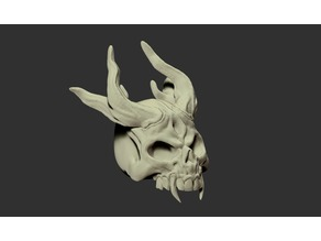 Horny Skull