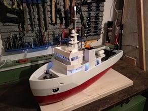 Mast for Tugboat
