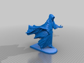 Mage with Flat Base