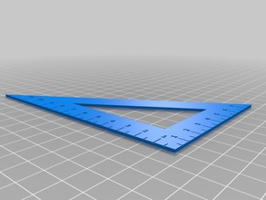 Triangle Ruler for A6 Notebook