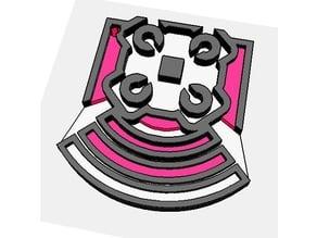 Echo - Keychain (Rainbow Six Siege)