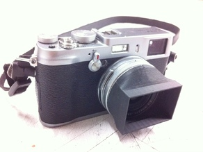 Square Lens Hood for the Fujifilm X100