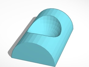 TinkerCAD-made egg cup