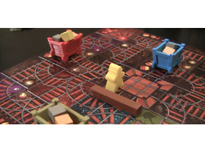 ORE-SOME Board Game 3D Components