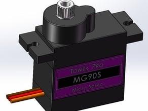 Servo model, MG90S, Tower Pro