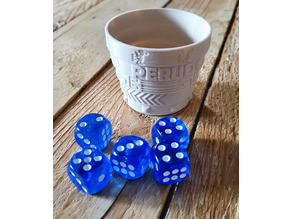Gobelet perudo extension (dice cup)
