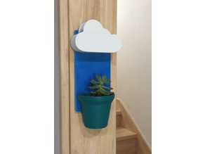Wall mount Cloud Pot