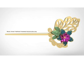 Binyeo, Korean Traditional Ornamental Hairpin