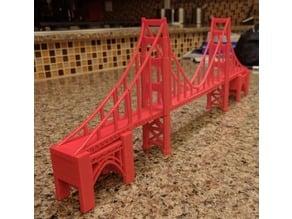 Golden Gate Bridge - Snap-together