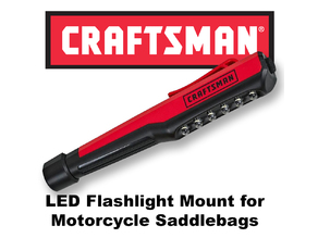 Craftsman Led Pocket Light Mount for Motorcycle Saddlebags