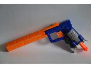 Nerf Jolt Silencer Upgrade
