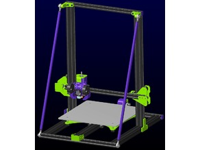 CR-10 Frame Bracing - No -Z- Travel Loss Design
