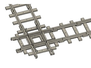 Criss-Cross Train Track compatible w/ the Lionel Ready-to-Play Train Sets