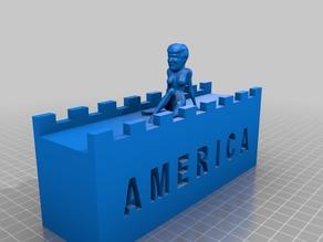 Trump Pinup Wall