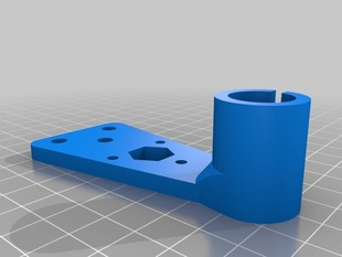 """Anti-wobble"" bed holder for RapMan 3.1"