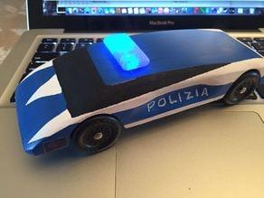 Pinewood Derby Car Police Lightbar