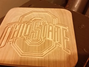 Ohio State Logo Coaster
