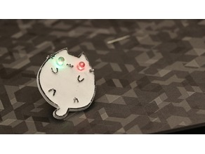 Led Cat Pin